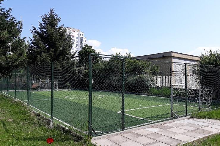 Изграждане на спортна площадка