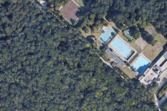 Борисова градина, къпалня Мария Луиза и Колодрума