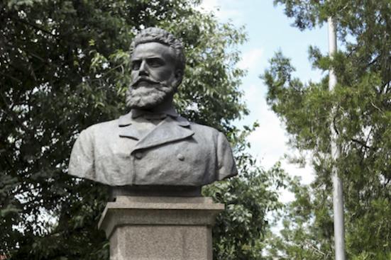Бюст-паметник на Хр. Ботев