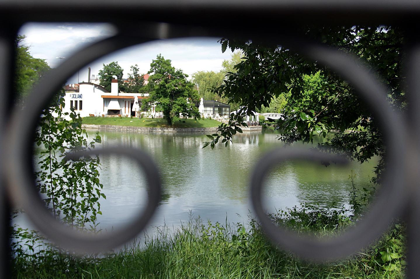 Езерото Ариана в столицата