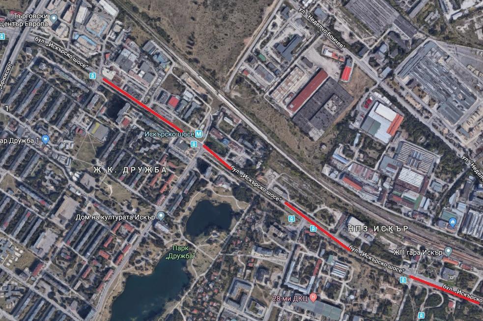 Започва ремонтът на Искърско шосе