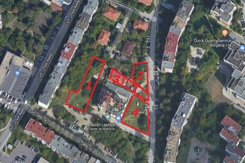 Протест срещу ново строителство от югоизток на жилищен блок