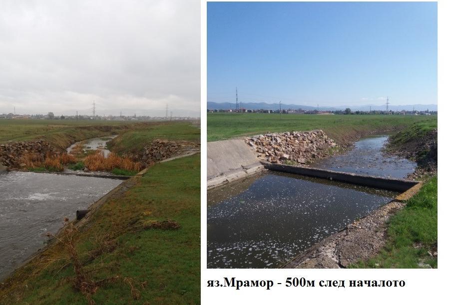 Реки в район Връбница