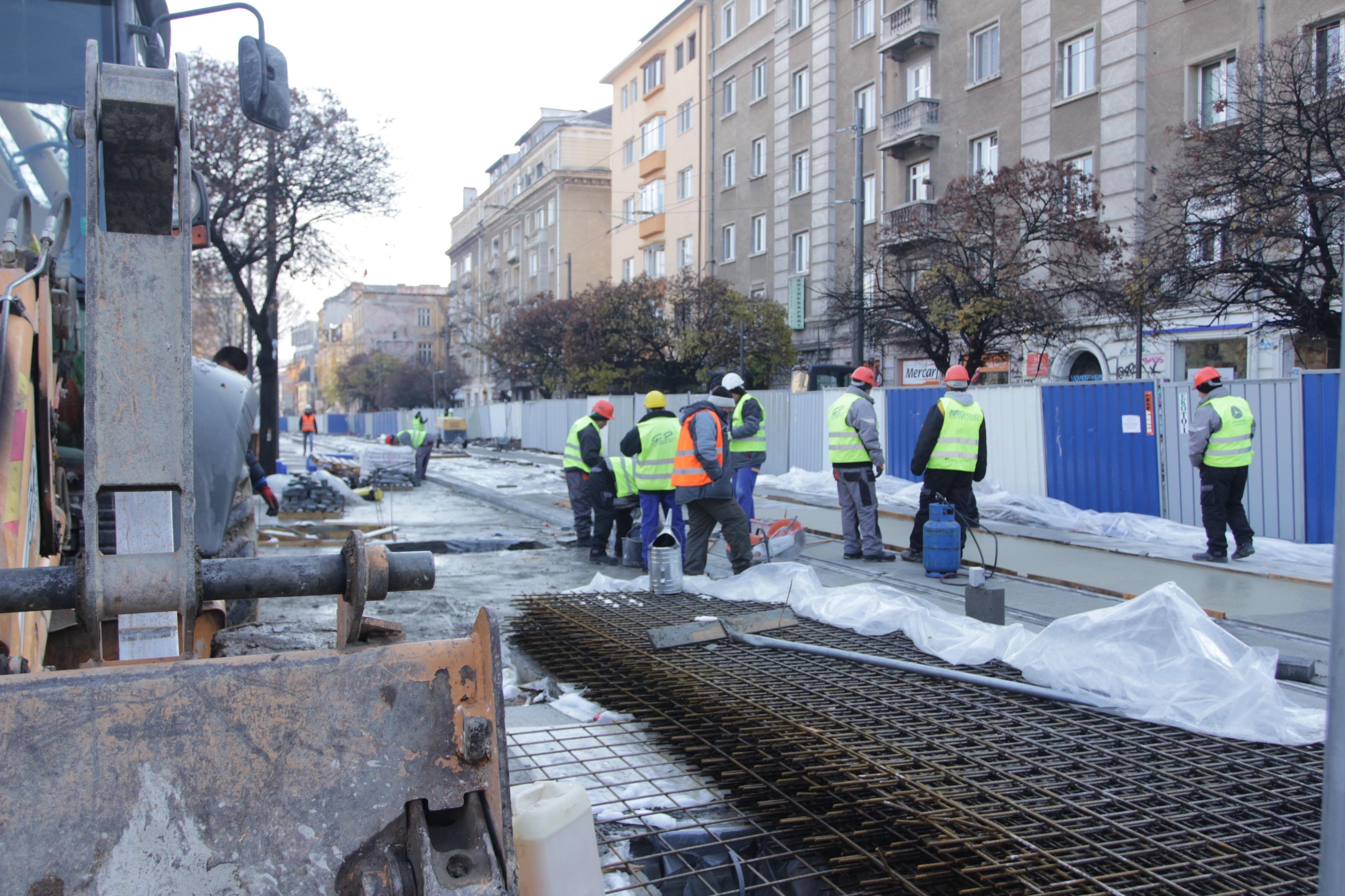 Строителни дейности по ул. Граф Игнатиев