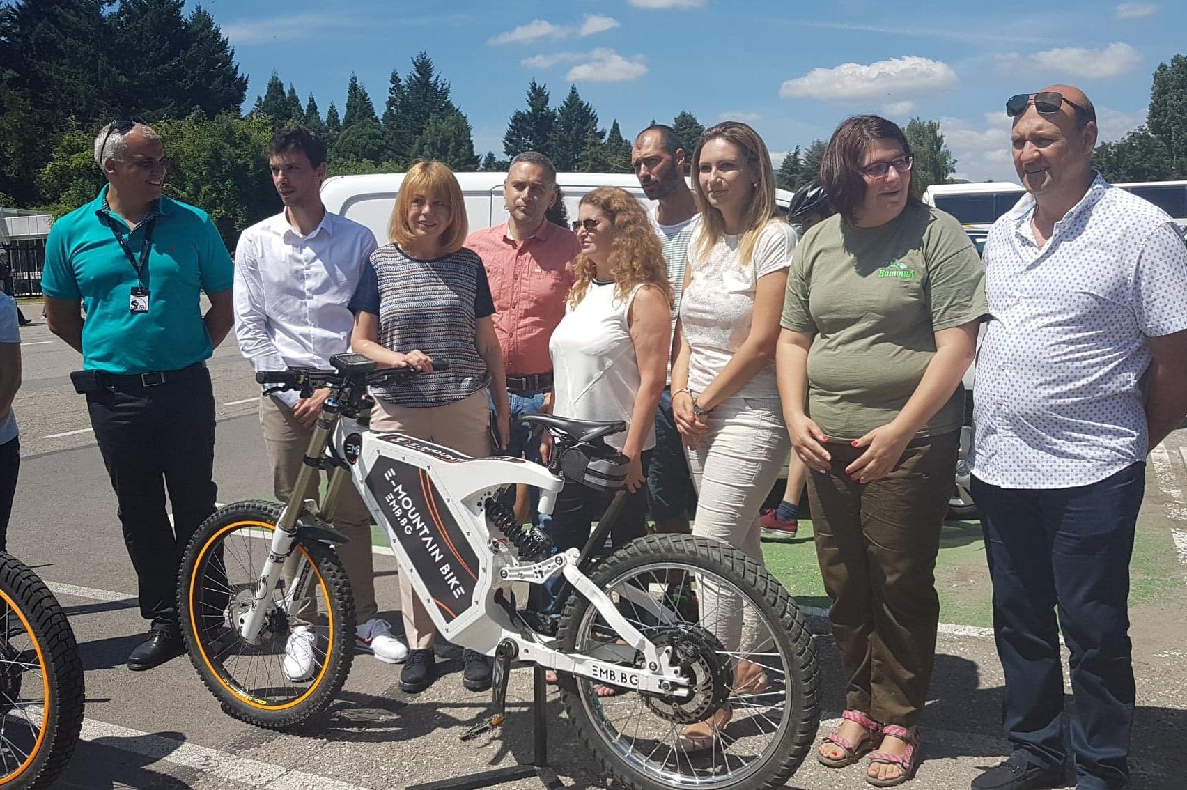 Електровелосипеди под наем