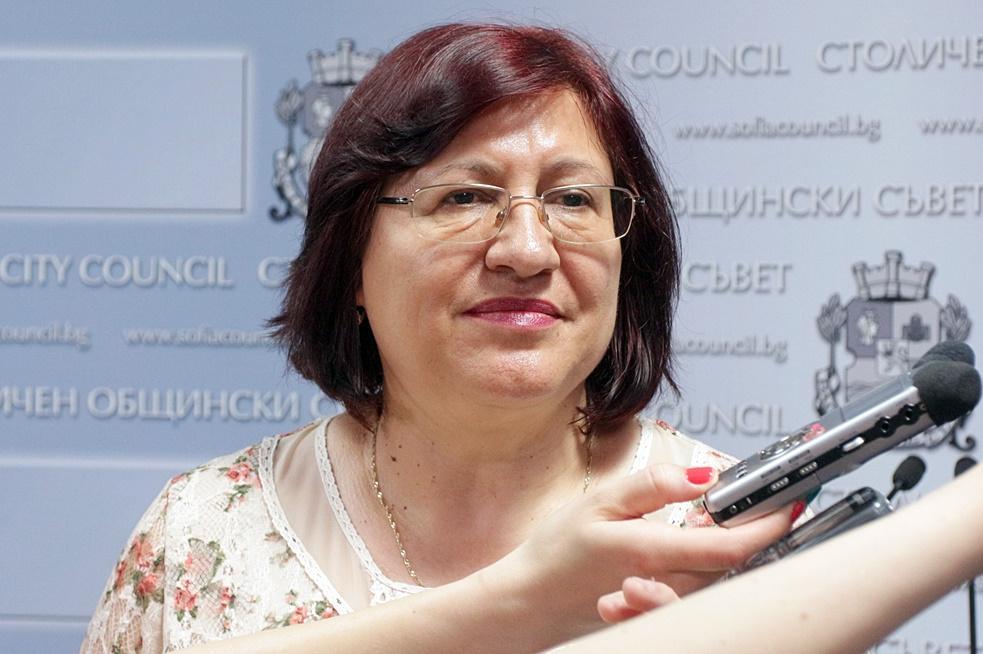 Общинският съветник Милка Христова