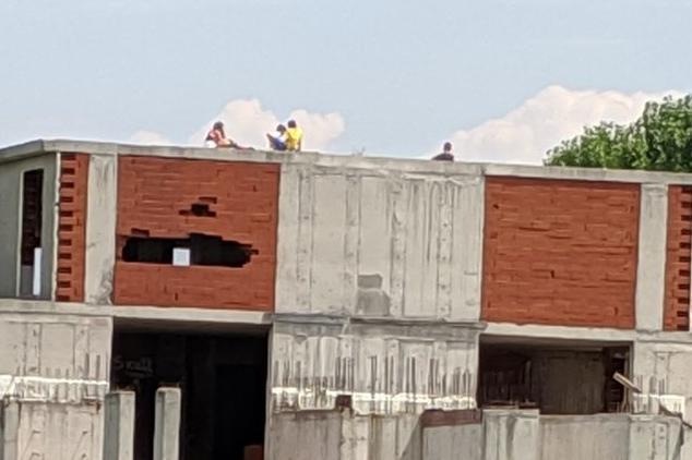 Необезопасен строеж в кв. Витоша