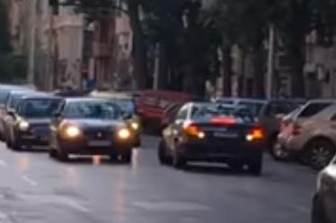 Мерцедес влезе в насрещното на столичния бул. Васил Левски