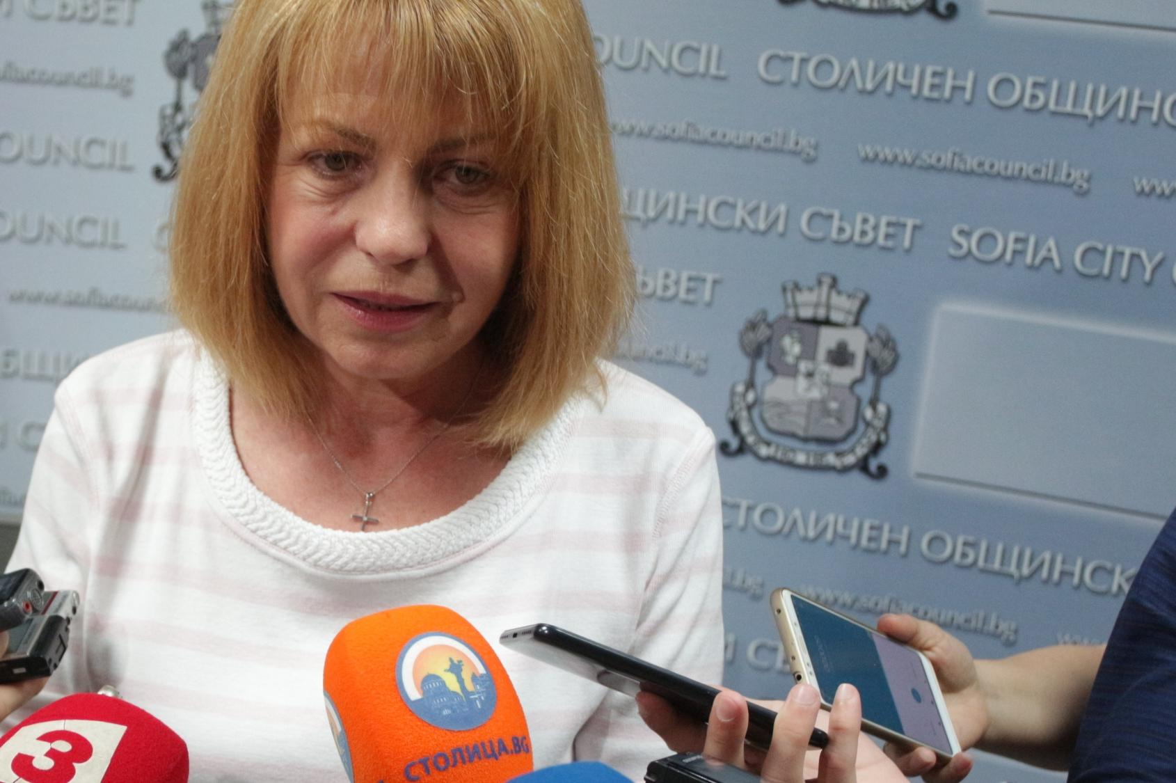 Йорданка Фандъкова за ремонта на ул. Граф Игнатиев