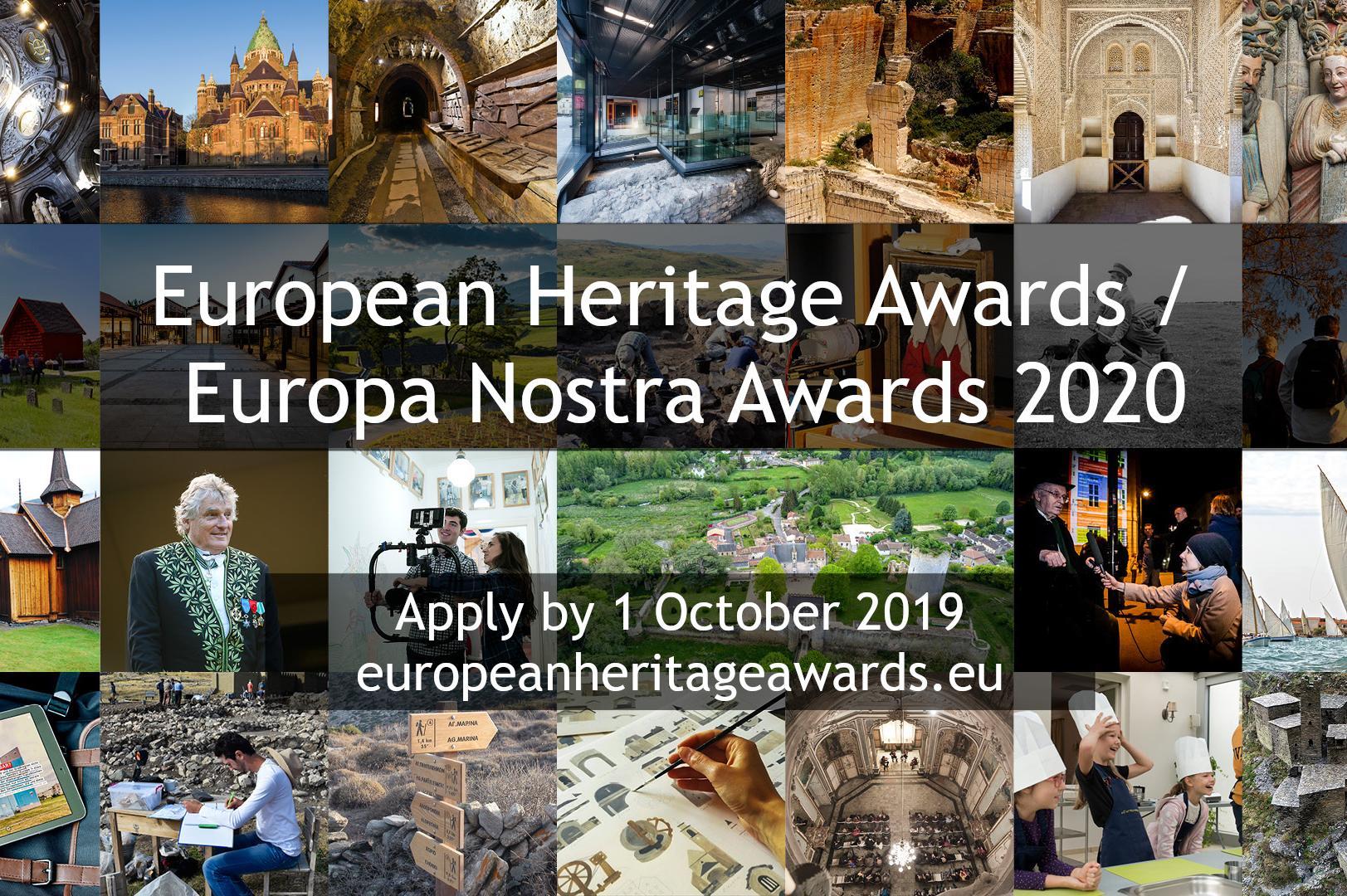 Награди за опазване на културното наследство в Европа