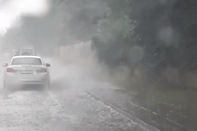 Наводненото Самковоско шосе