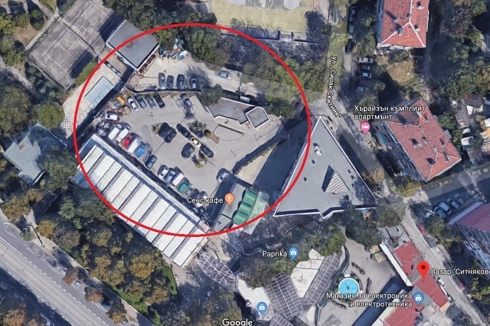 паркинг на пазара Ситняково