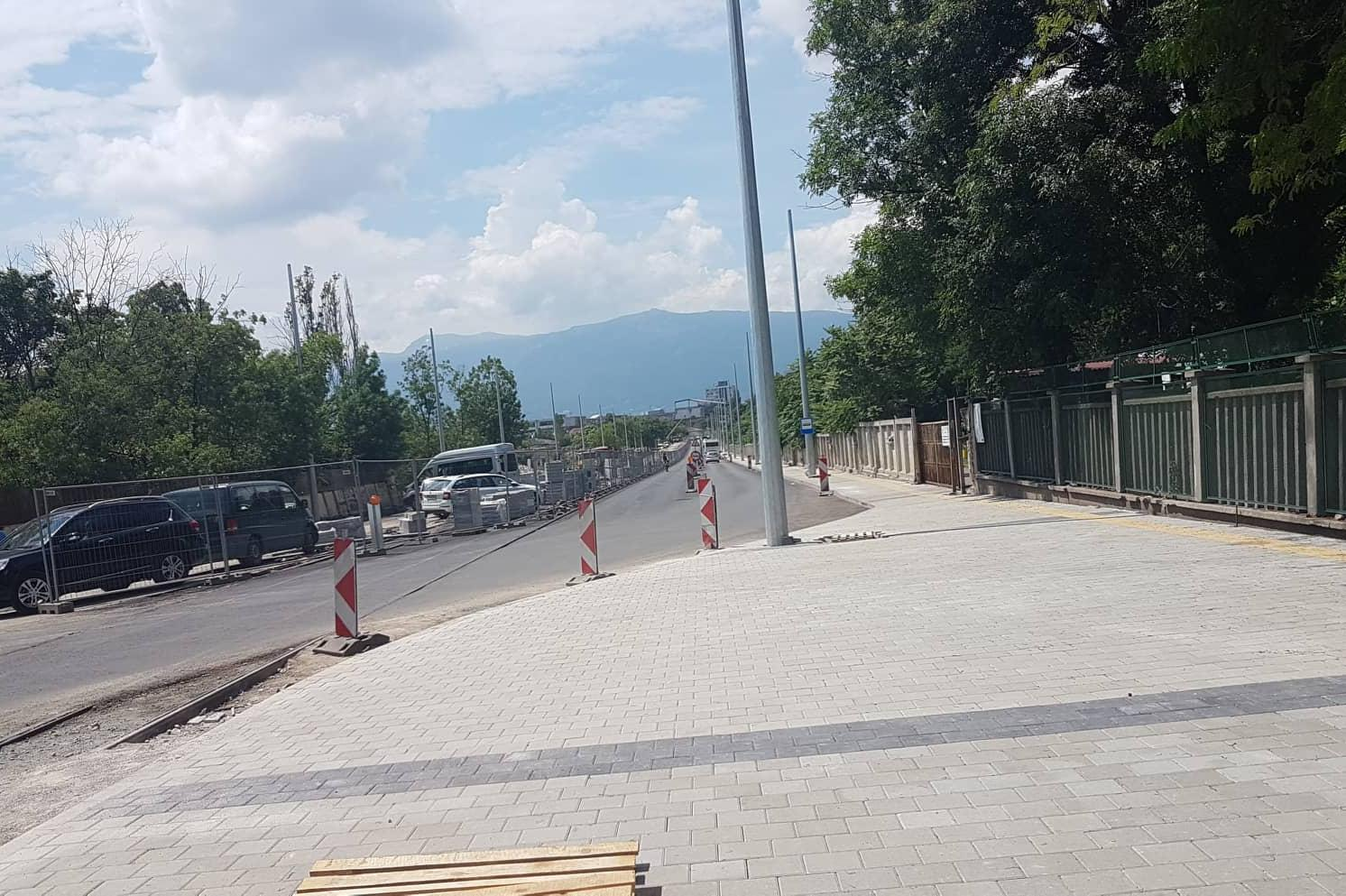 Закъснение на градския транспорт по ул. Каменоделска