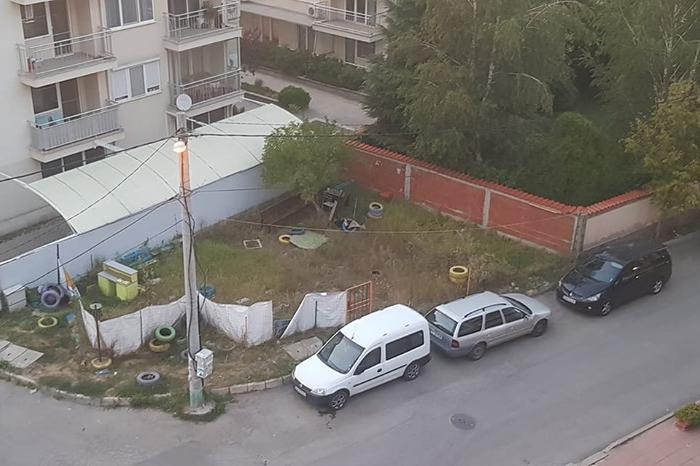 """Площадка на """"С. Караславов"""" и """"К. Петканов"""""""