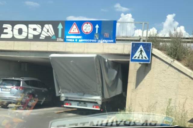 заседма камион на Ботеградско