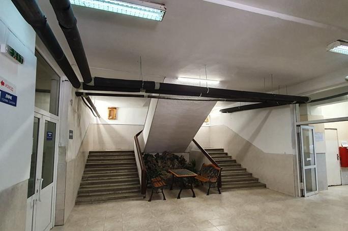 Ремонт на болницата за рехабилитация в Панчарево
