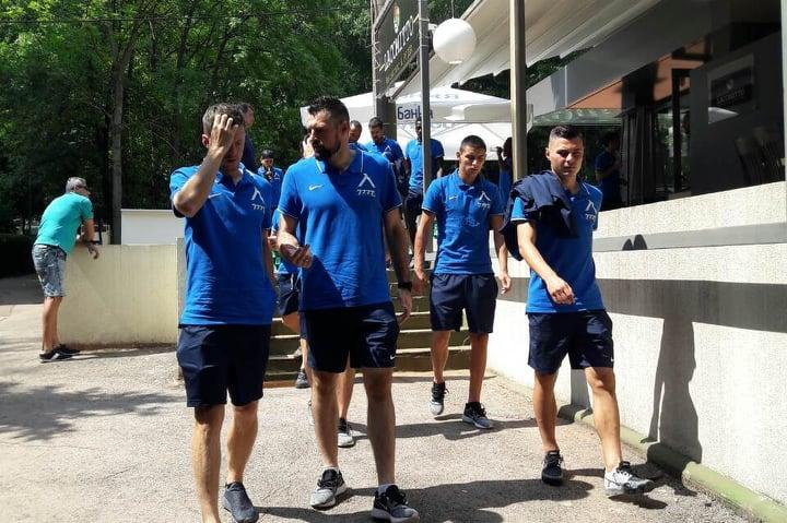 Футболистите на Левски