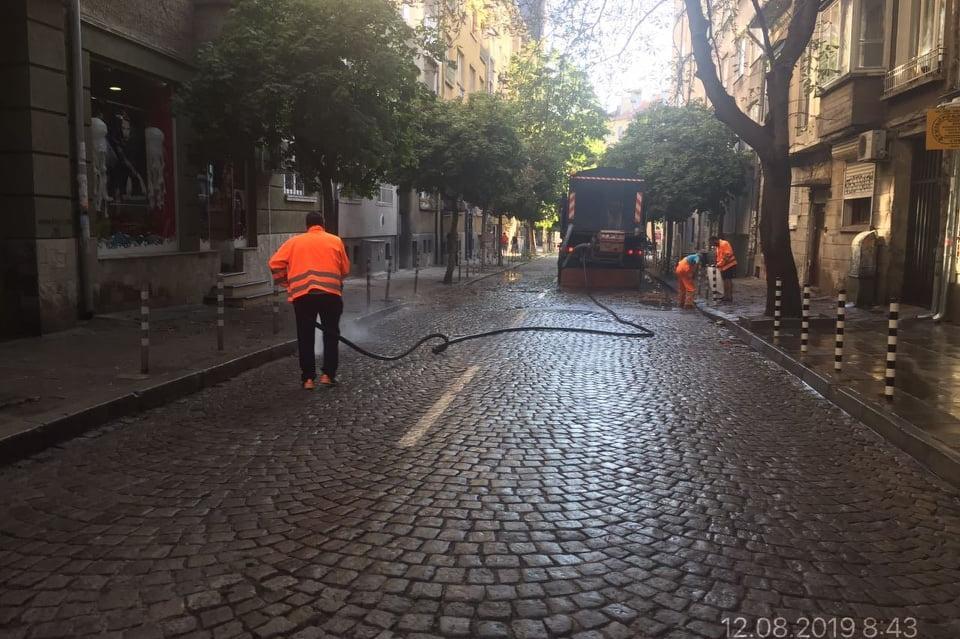 измиха улици в район Красно село