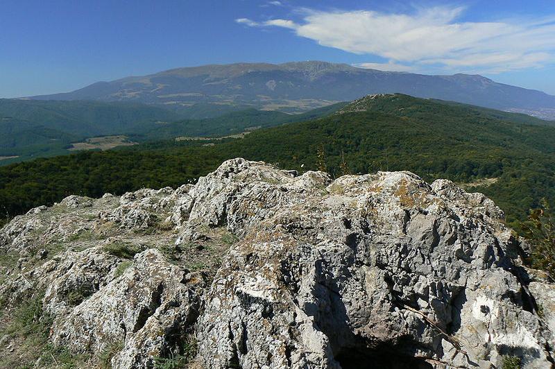 Връх Половрак, Лозенска планина