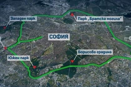 Зелено околовръстно свърза парковете в столицата