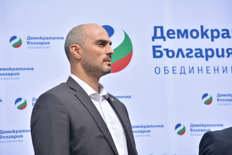 Кандидатът на Демократична България за кмет на София арх. Борислав Игнатов