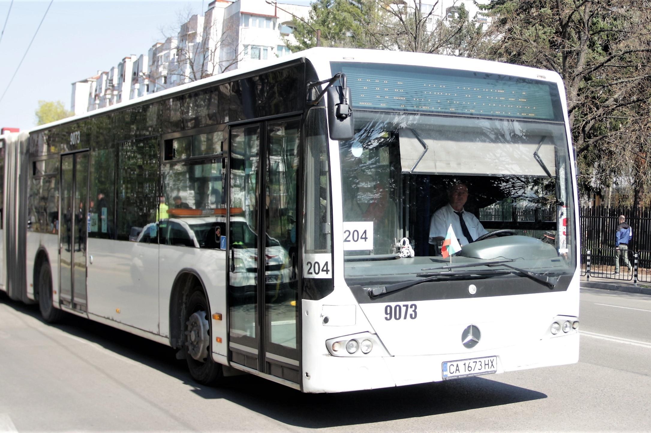 Жена пострада при инцидент в автобус 204