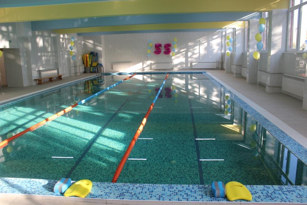 Откриха басейна на 55 СУ Петко Каравелов
