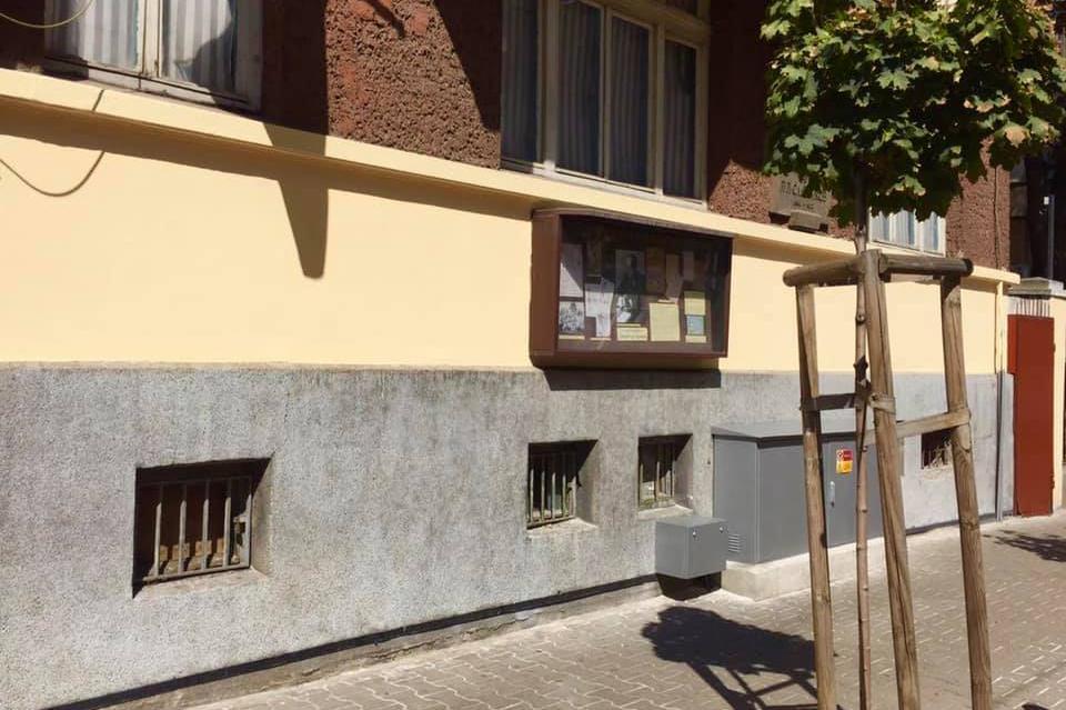 Фасадата на къщата на Пенчо Славейков