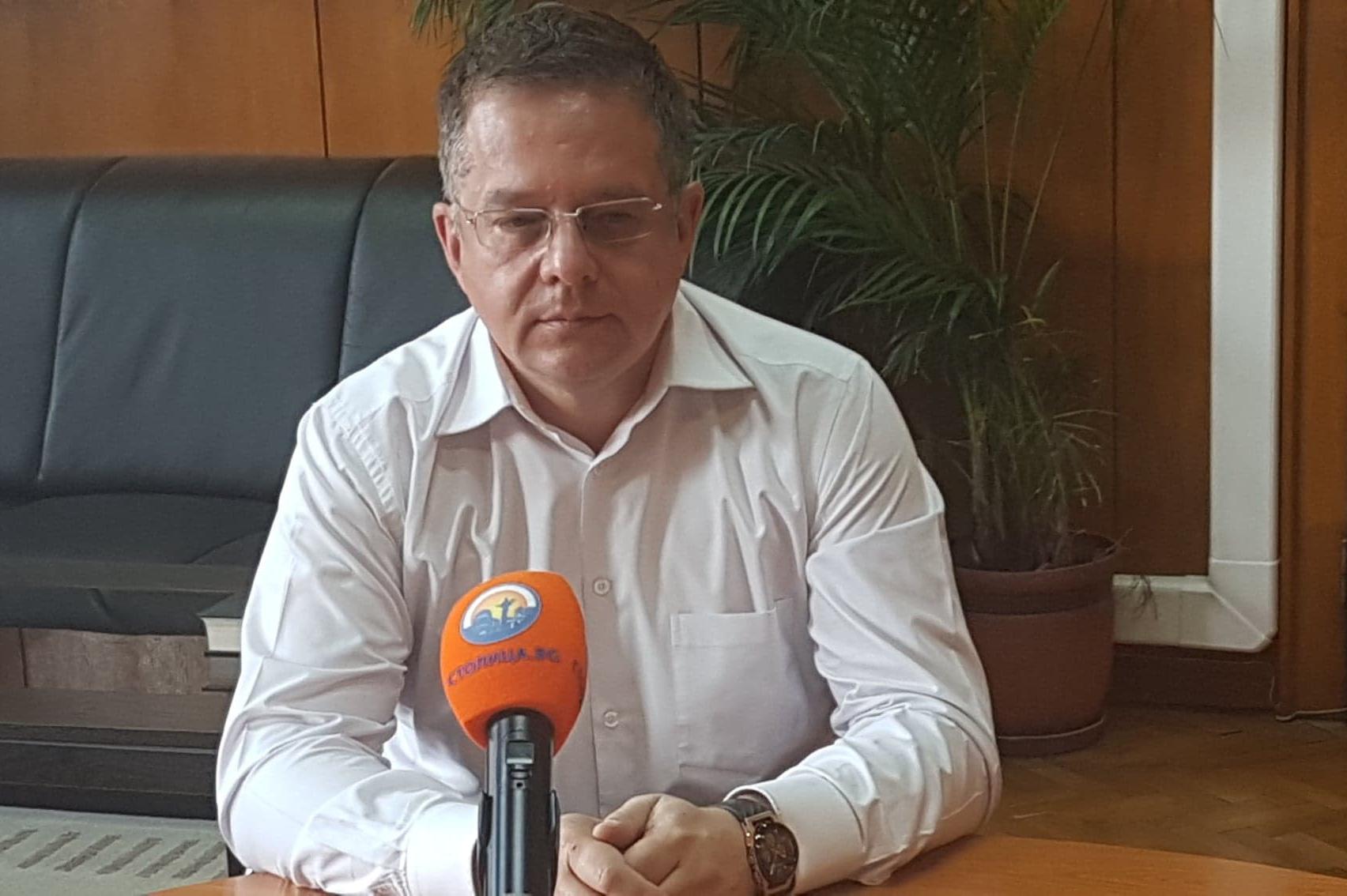 Зам.-кметът на Столична община Дончо Барбалов