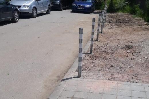 колчета срещу паркиране