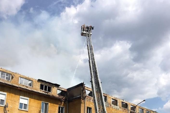 Пожарът в Бухово