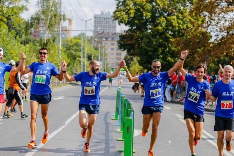 Щафетен маратон в София