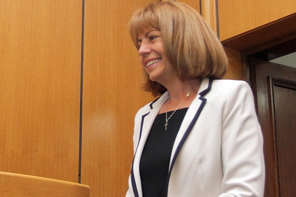 Йорданка Фандъкова на тържествената сесия на СОС