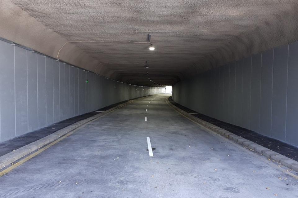 Пуснаха за движение ремонтирания тунел на бул. Александър Малинов в Младост