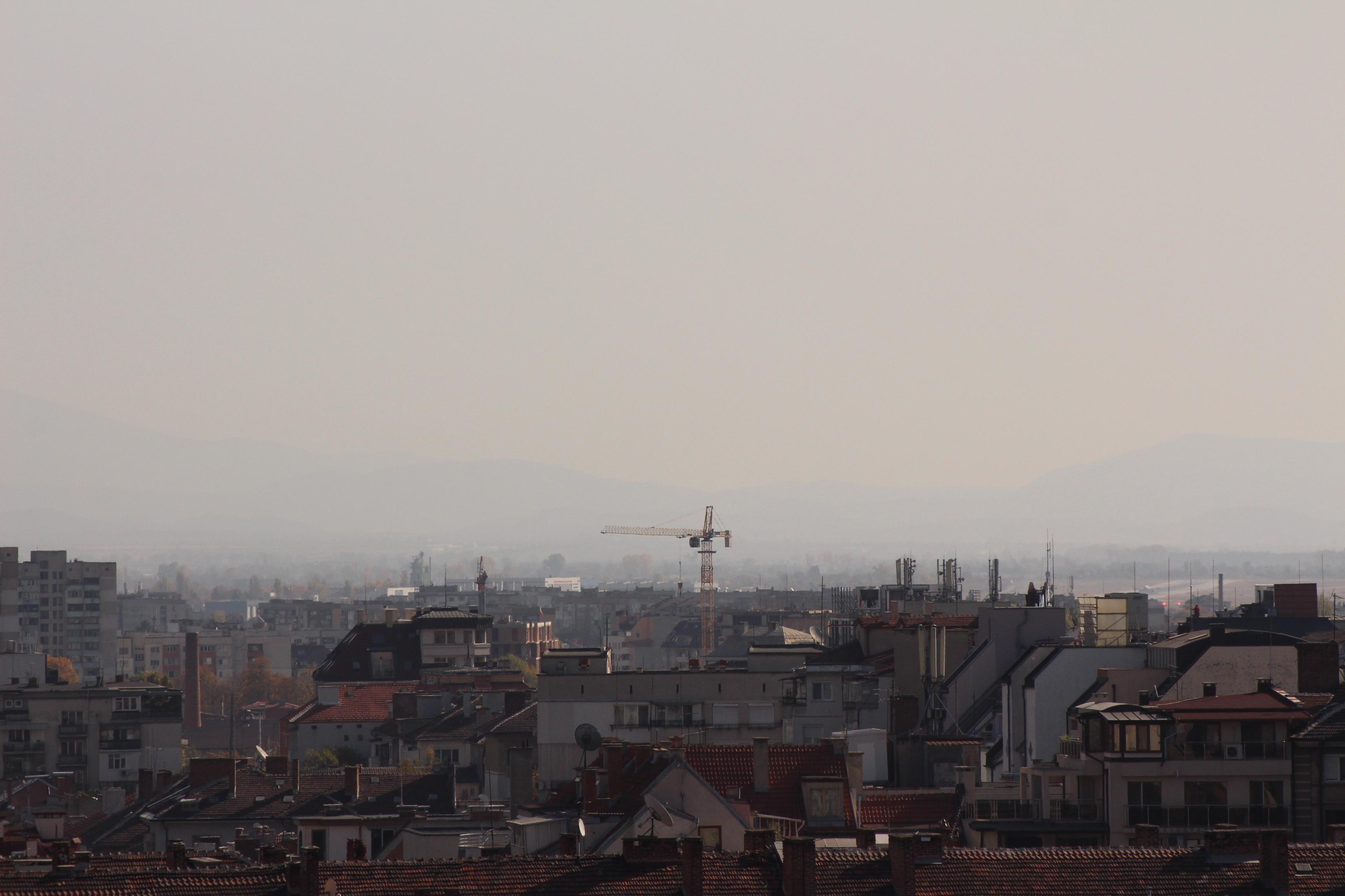 Въздух в София