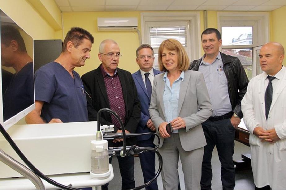 Проф. д-р Цветомир Димитров, директор на Първа градска болница, Дончо Барба