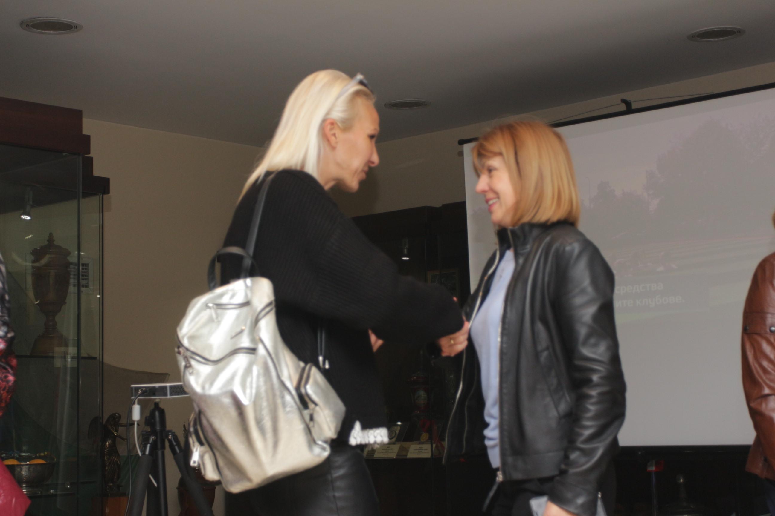 Йорданка Фандъкова се срещна с легенди в спорта в Музея на спорта