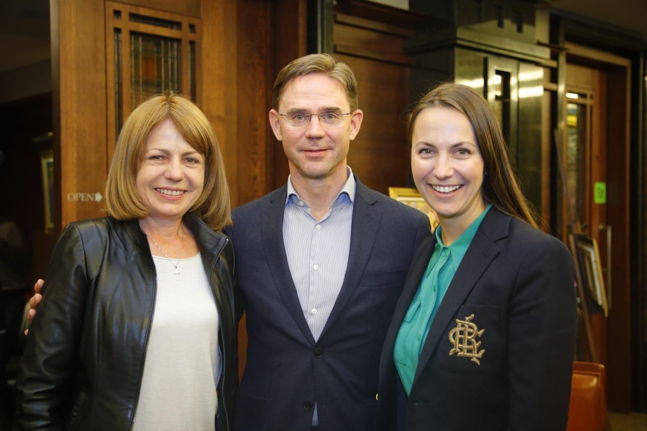 Йорданка Фандъкова проведе среща с Юрки Катайнен, зам.-председател на Европ