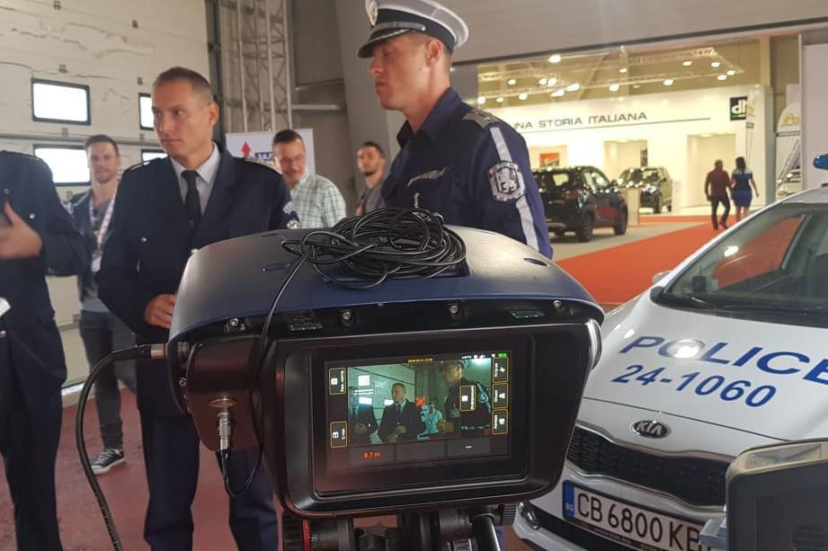 Автомобилен салон 2019 Пътна полиция-София
