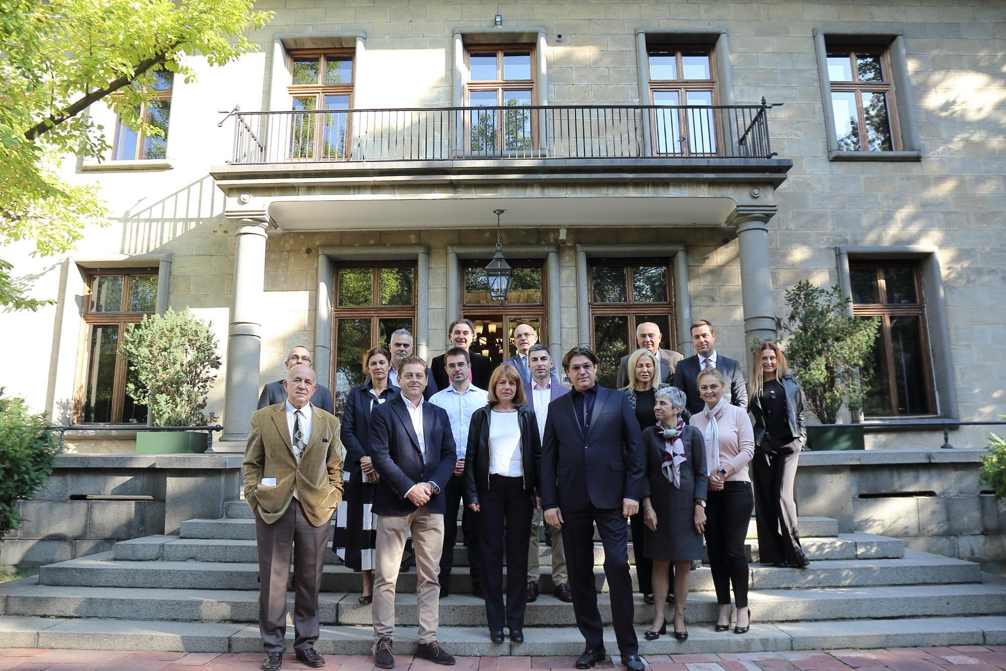 Йорданка Фандъкова на среща с Националния борд по туризъм