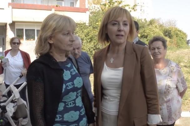 Мая Манолова в Надежда, обжалва наредба за сградна инсталация за Топлофикац