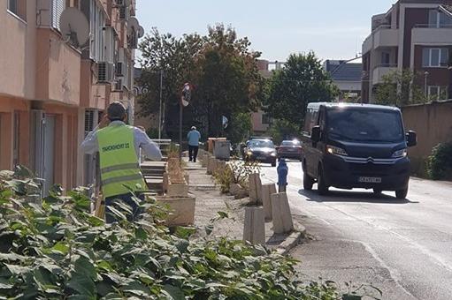 Проектиране на реконструкцията на ул. могилата, кв. витоша, район Лозенец