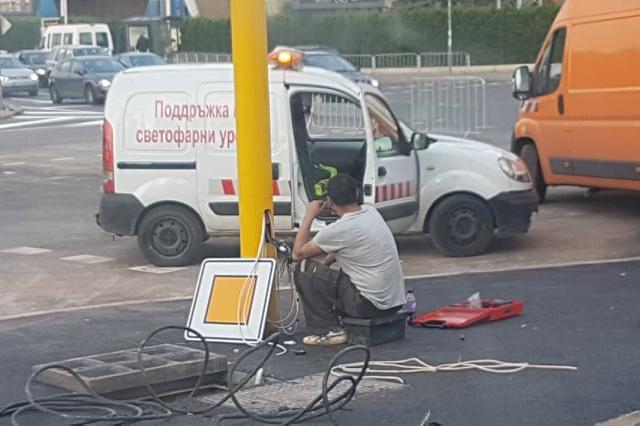 Ремонт на ул. Асен Йорданов и Искърско шосе