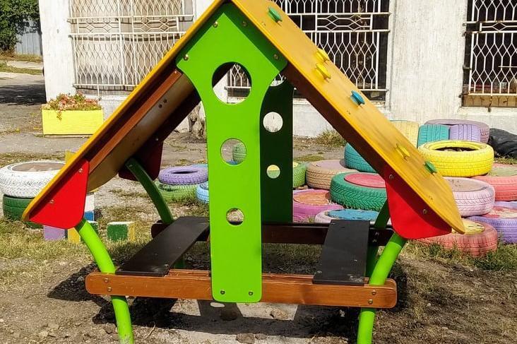 "Детска площадка при бл. 80 в ""Христо Смирненски"" в Слатина"