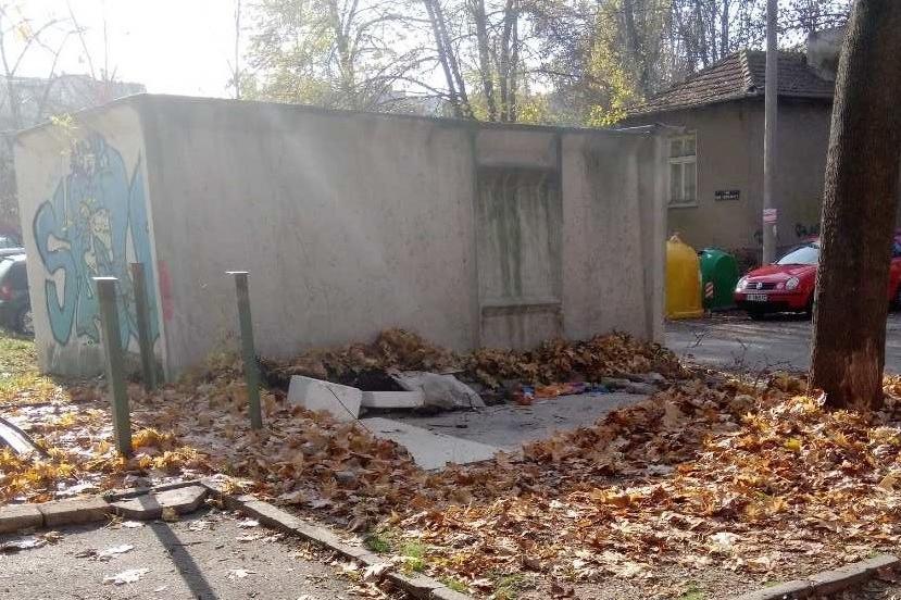 премахване на гаражни клетки в Подуяне