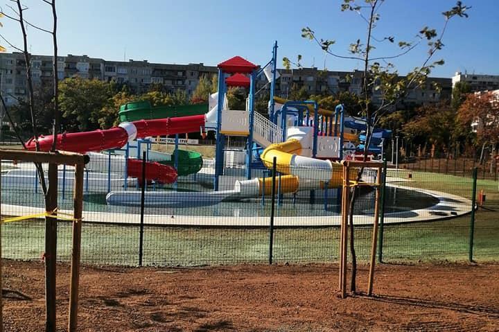 Аквапаркът в парк Възраждане получи акт 16