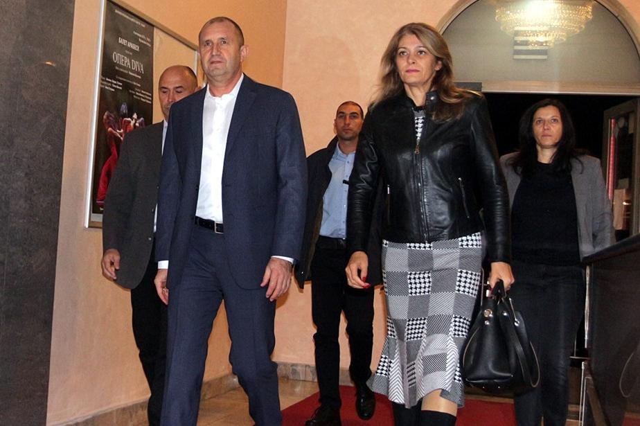 Президентското семейство Радеви