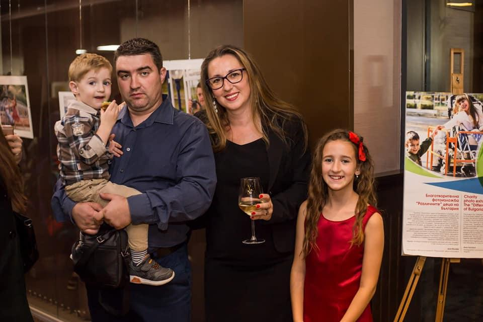 Семейството на фотографа Анна Йончева