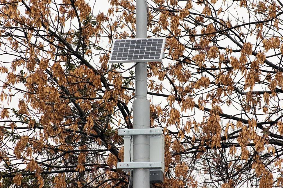Сензорна станция за качеството на въздуха в Дружба 1