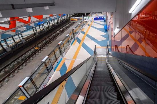 Завършване на линията от първия етап на Третия метродиаметър